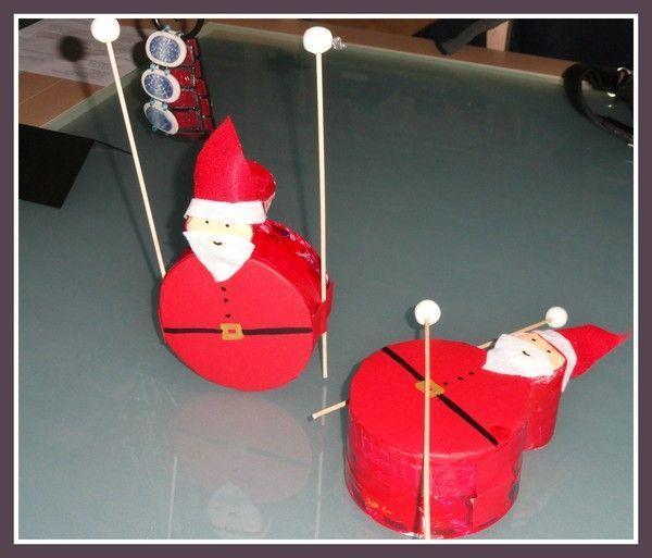 P re no l tambour activite noel avec boite oeuf - Deco noel avec boite a oeuf ...